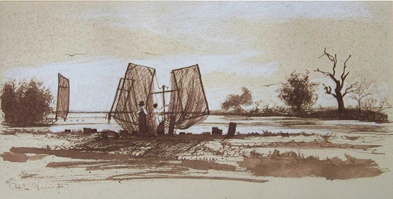 Pointe-aux-Chenes, study by Chestee Harrington